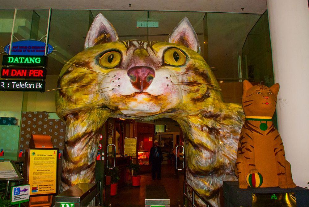 Cat museum in Kuching