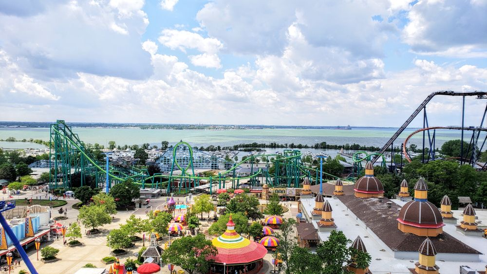 Cedar point Sandusky