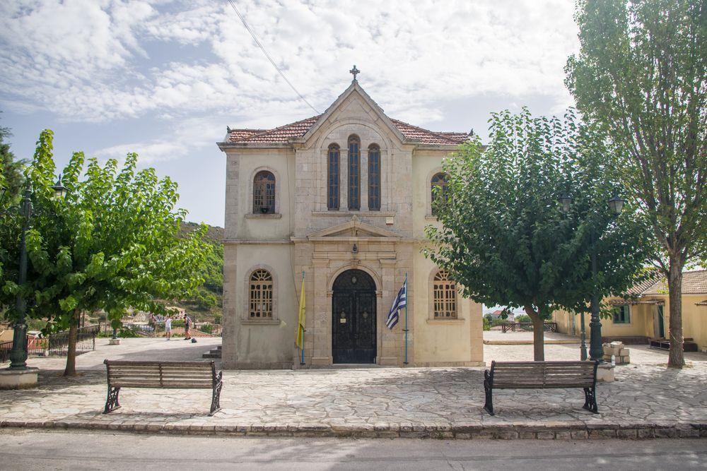 Church Agios Nikolaos in Koiliomenos