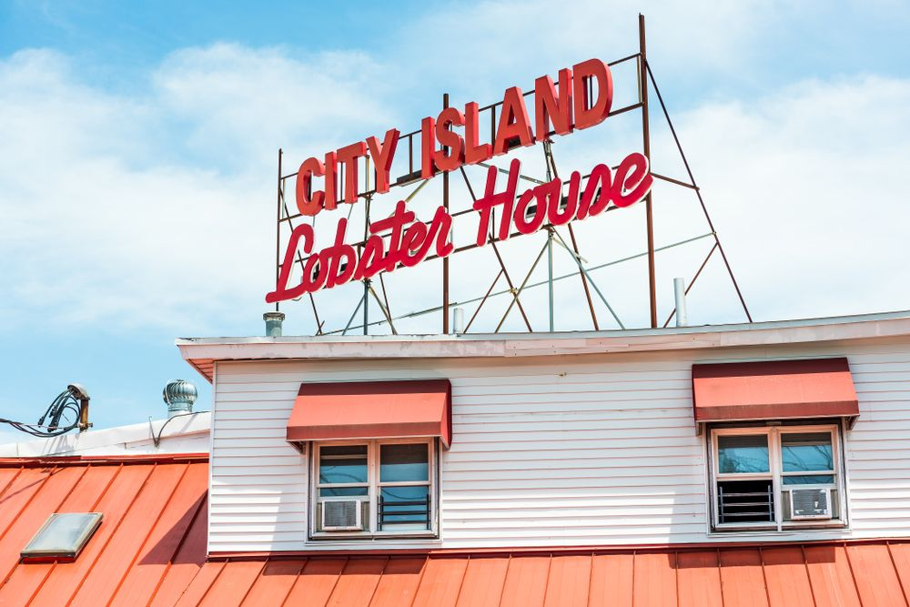 City Island lobster house in Bronx
