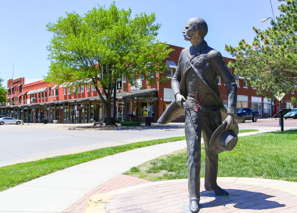 Dodge city, trail of fame