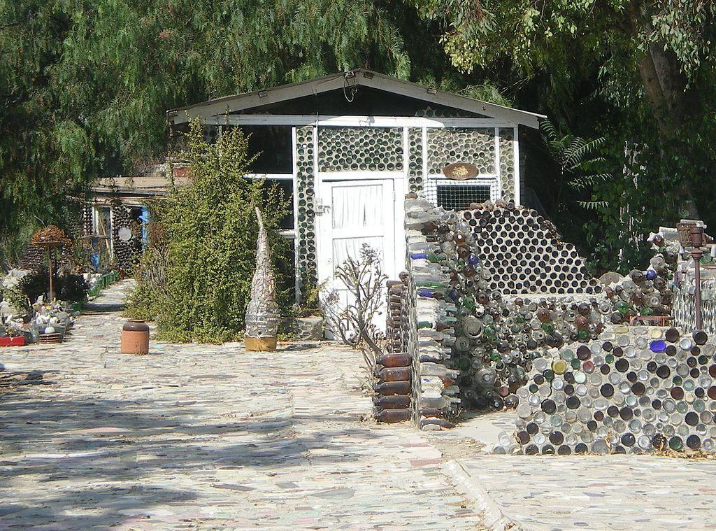 Grandma Prisbrey bottle village