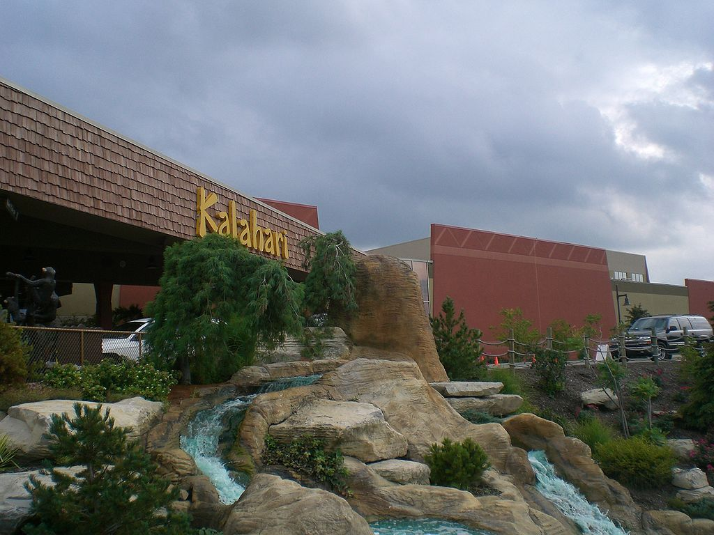 Kalahari resorts in Sandusky