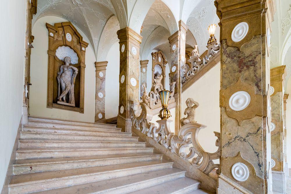 Interior of Salzburg Residenz