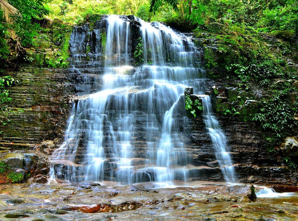 Waterfall in Kubah National Park