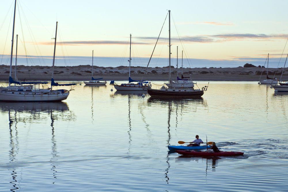 Boating at Morro Bay