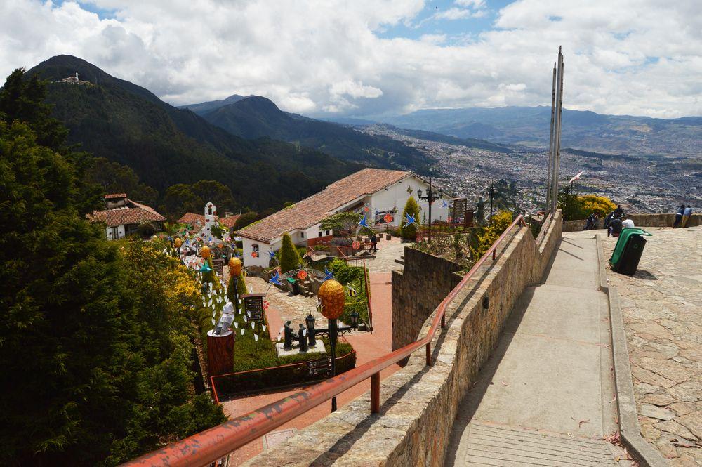 Cerro Monserrate in Bogota
