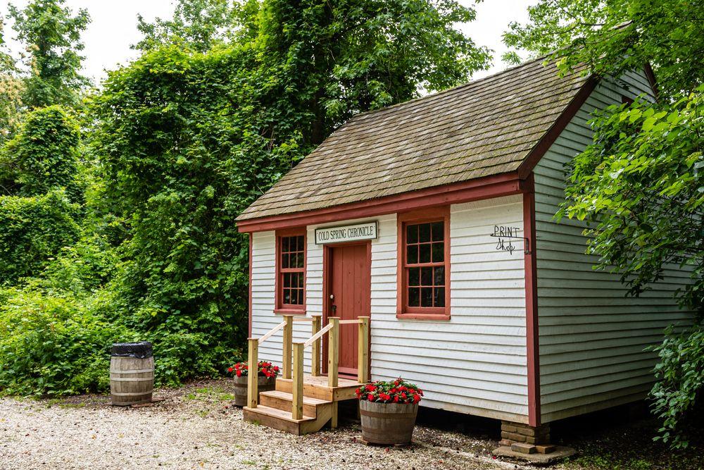 David Gandy house, built in 1830, in Cold Springs Village