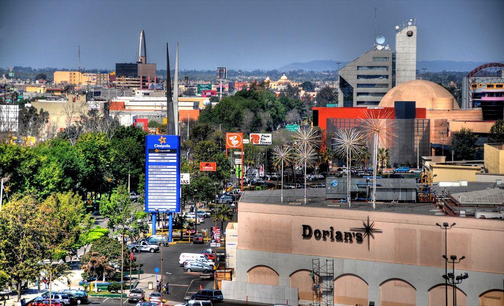 Dorians in Plaza Rio, Tijuana