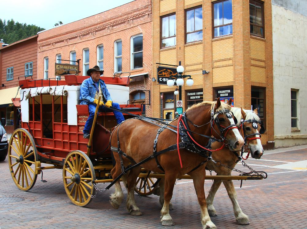 Horse-back tour in Deadwood