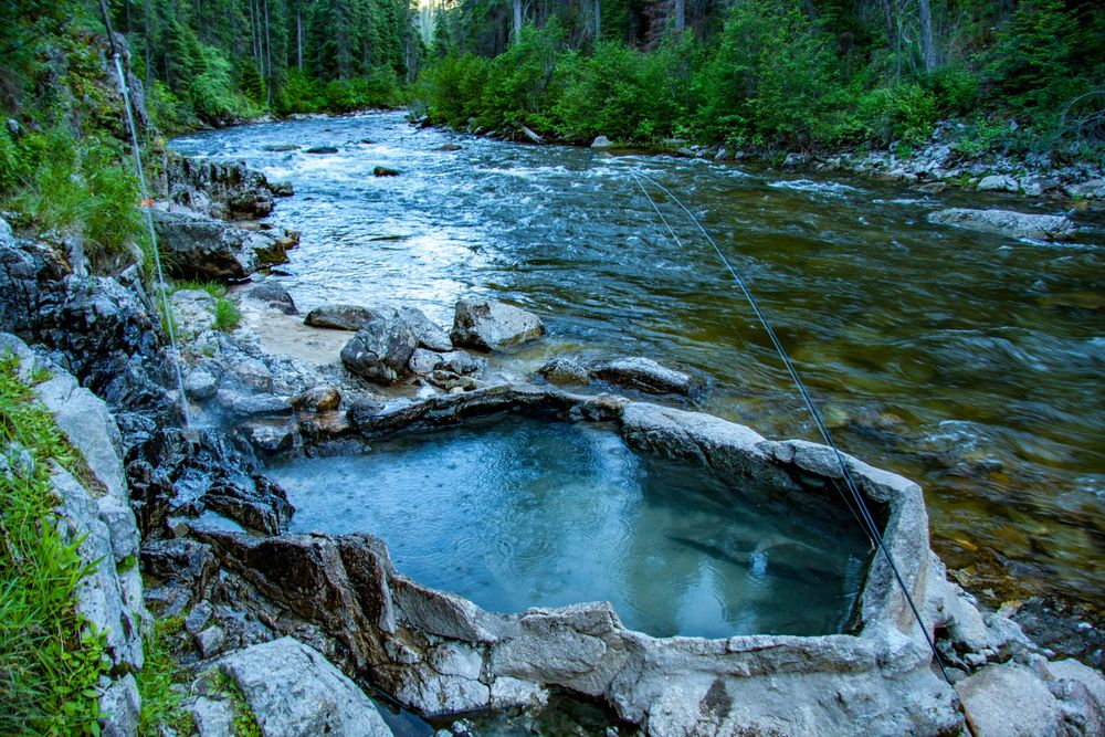 Natural Hot Springs in McCall
