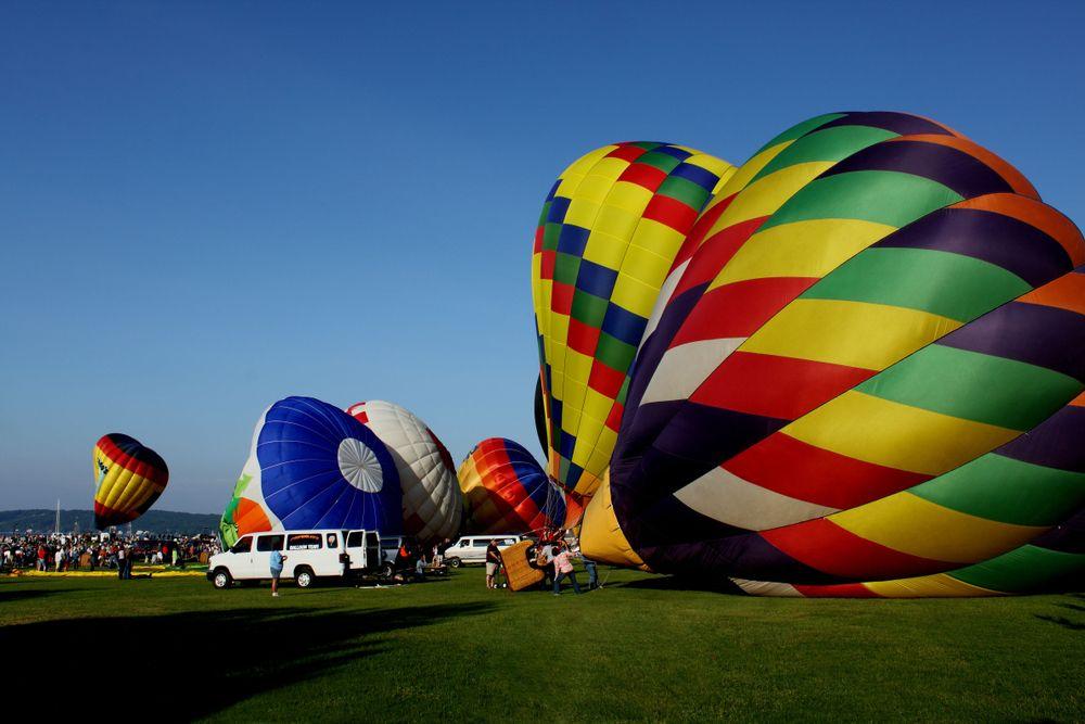 Hot Air Balloon in Traverse