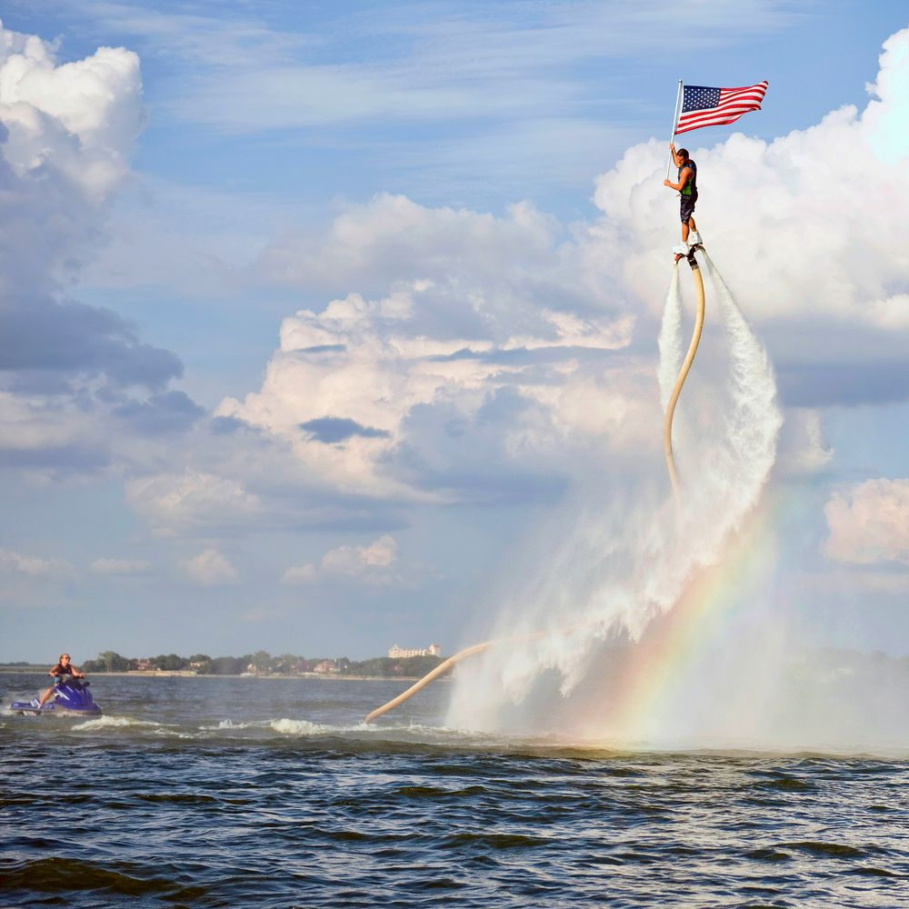 Jet Fly Board at Lake Arlington