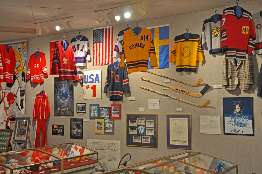 Collections at Lake Placid Olympic Museum
