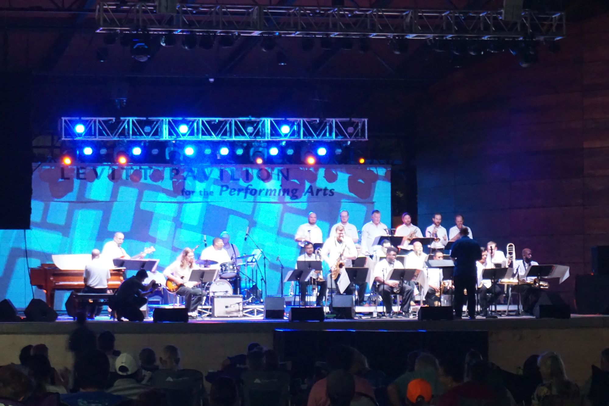 Orchestra at Levitt Pavilion for the Performing Arts