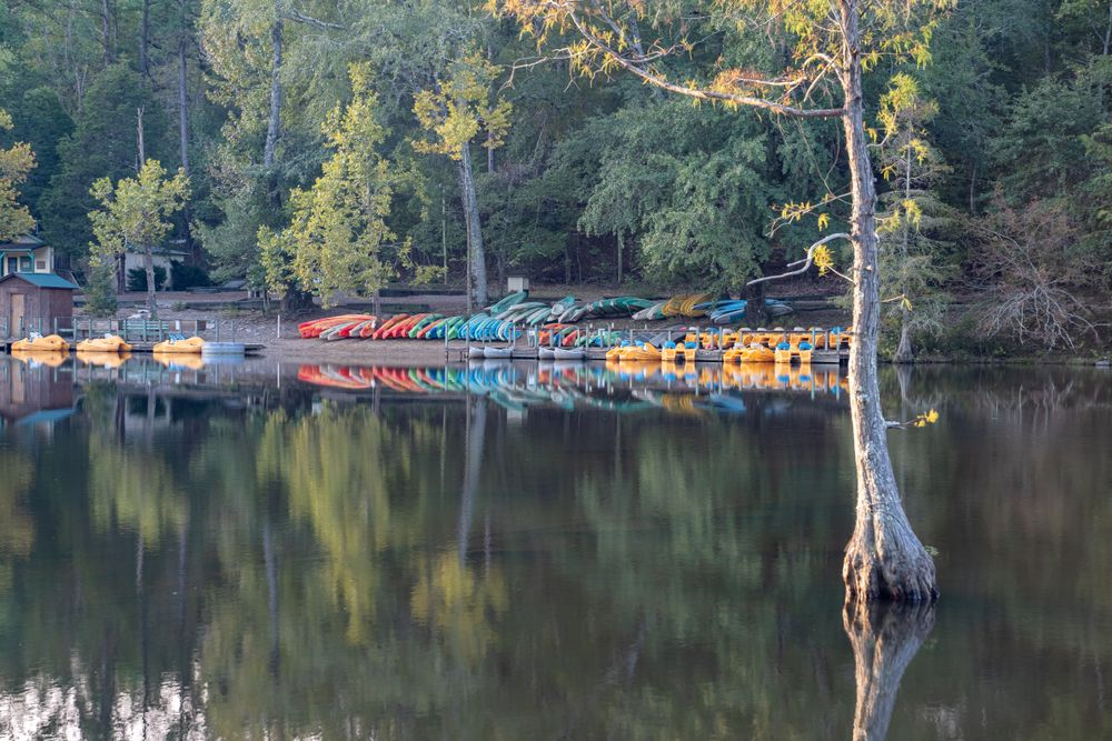 Kayaks in Broken Bow