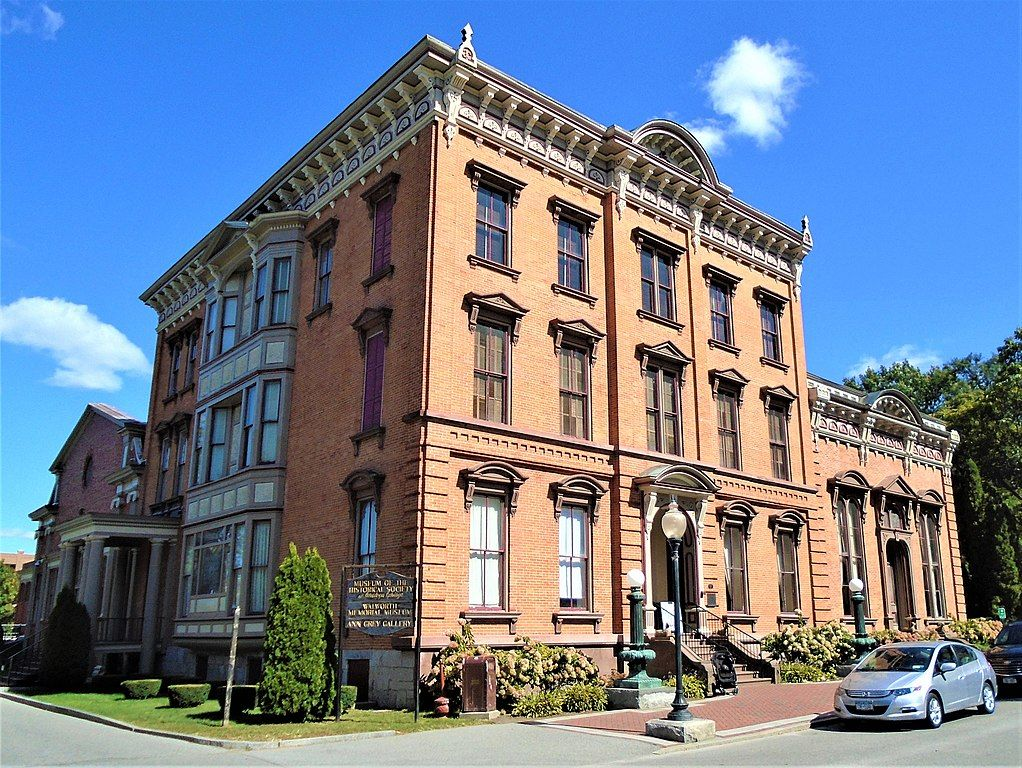Canfield building at Saratoga Springs History Museum