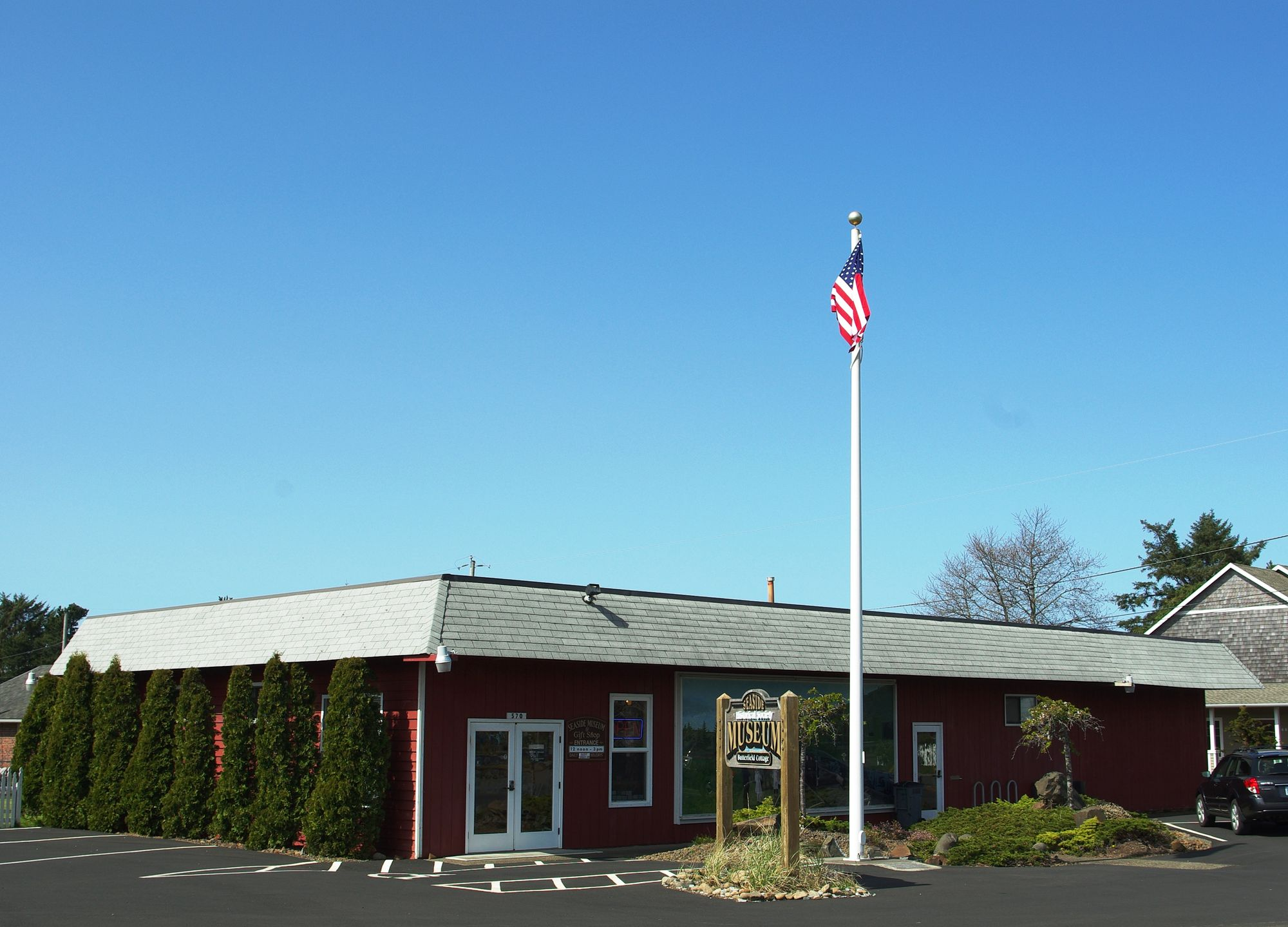 Seaside museum and Historical Society
