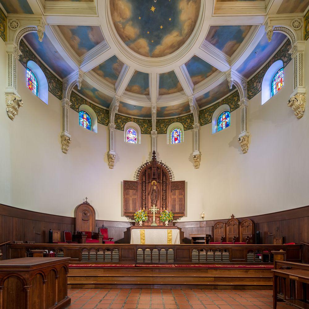 Interior of St. Anne's Episcopal Church