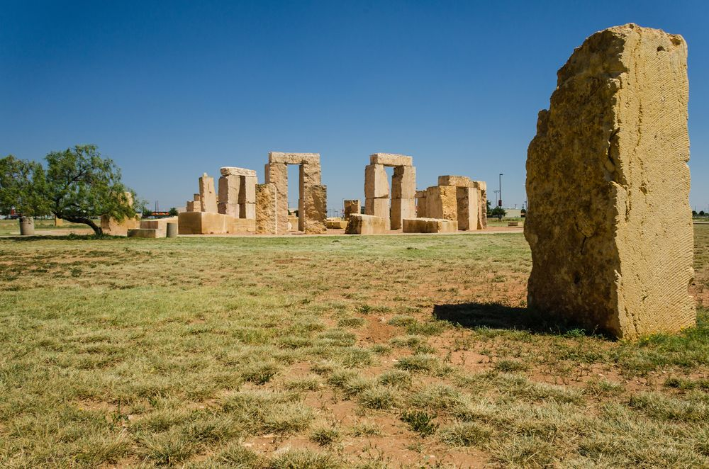Stonehenge replica in University of Texas, Odessa