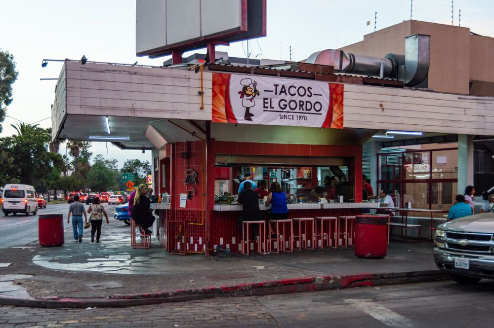 Famous Taco place in Zona Rio