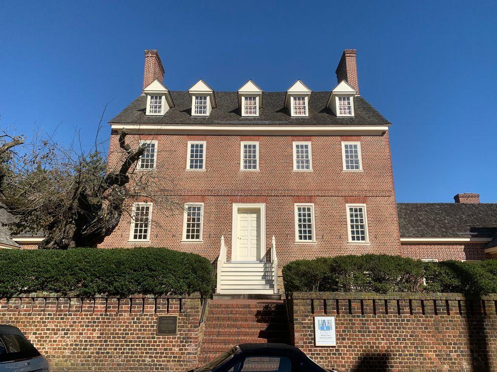 William Paca house in Annapolis
