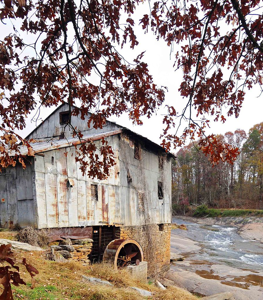 Anderson's mill in Spartanburg