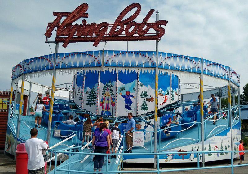 Ride at Beech Bend Amusement Park