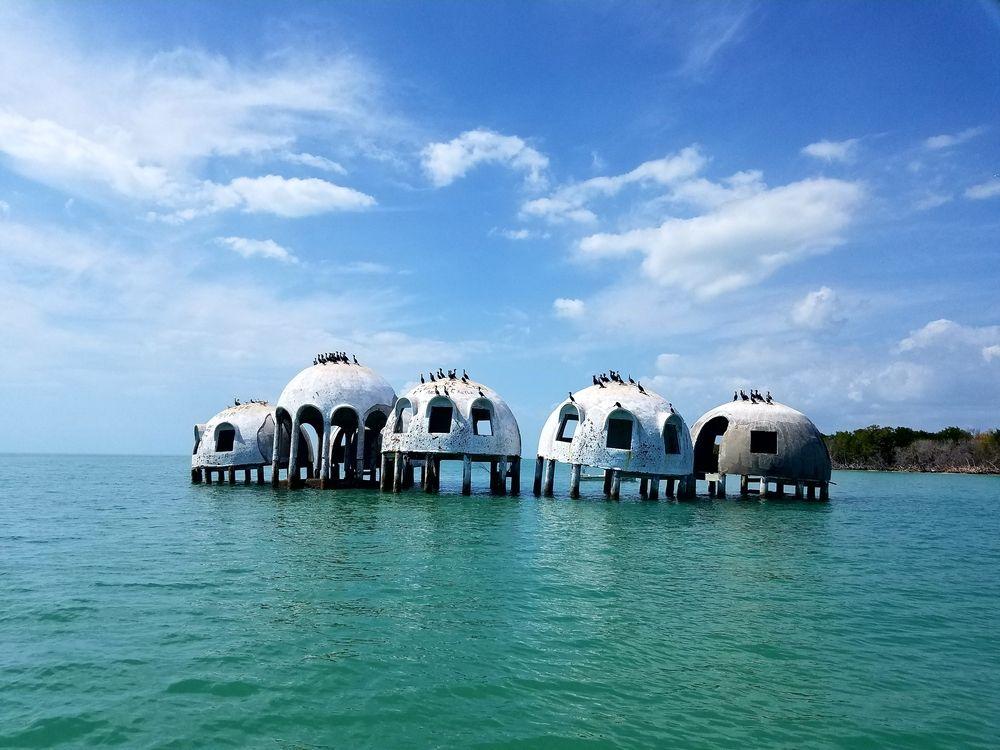 Dome Homes in Cape Romano