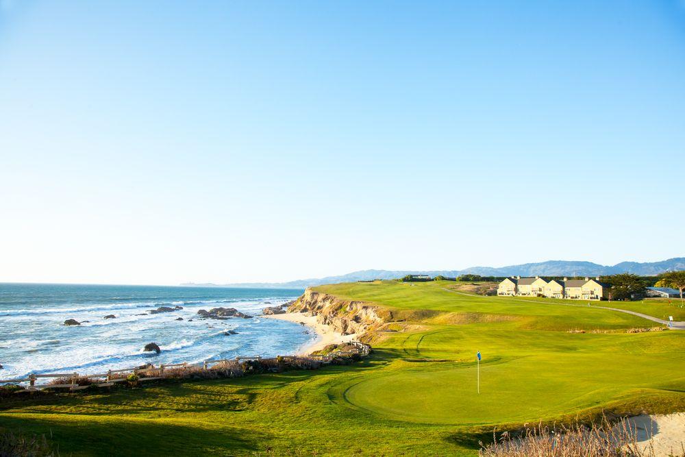 Golf course in Half moon bay