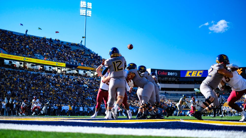 Football game at Mountaineer Field