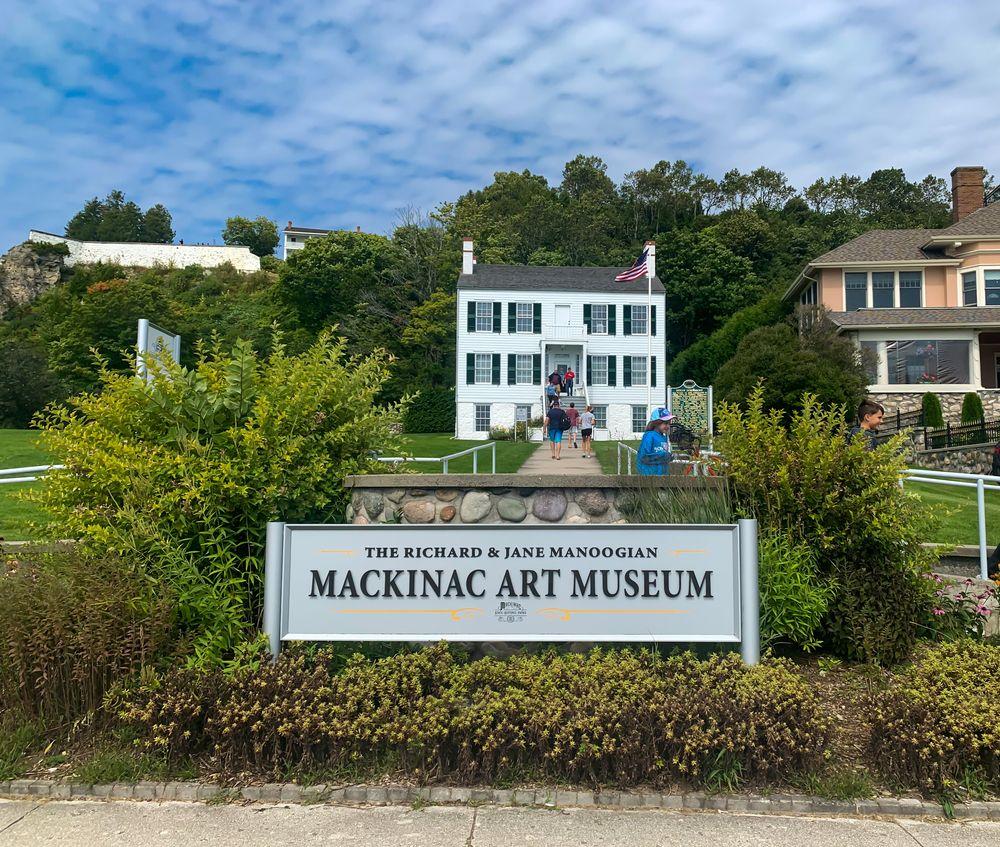 The Richard and Jane Manoogian Mackinac Art Museum