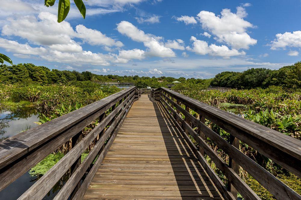 Walkway at Wakodahatchee Wetlands