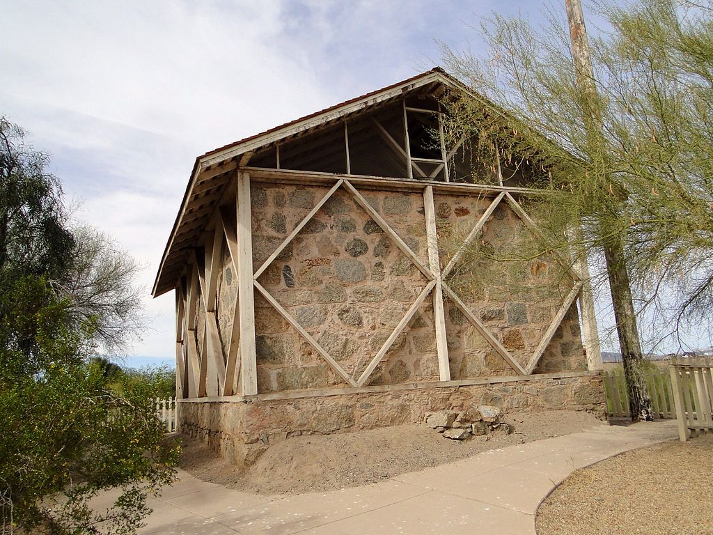 Water Reservoir in Yuma Quartermaster Depot State Historic Park