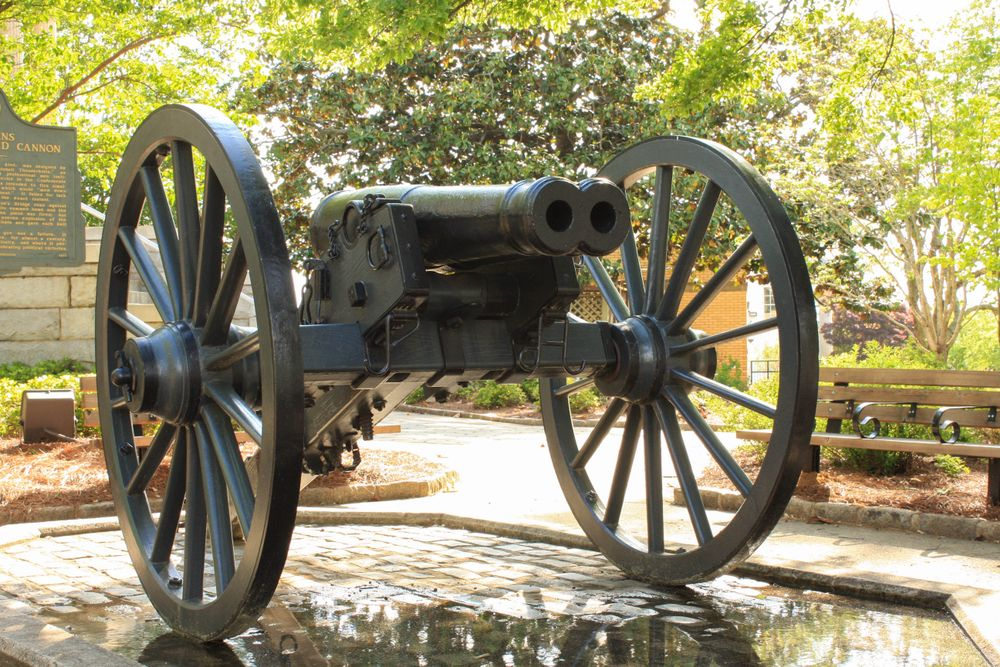 Double-barreled cannon