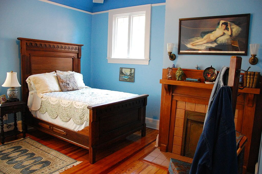Duane Allman Bedroom in Allman Brothers Band Museum