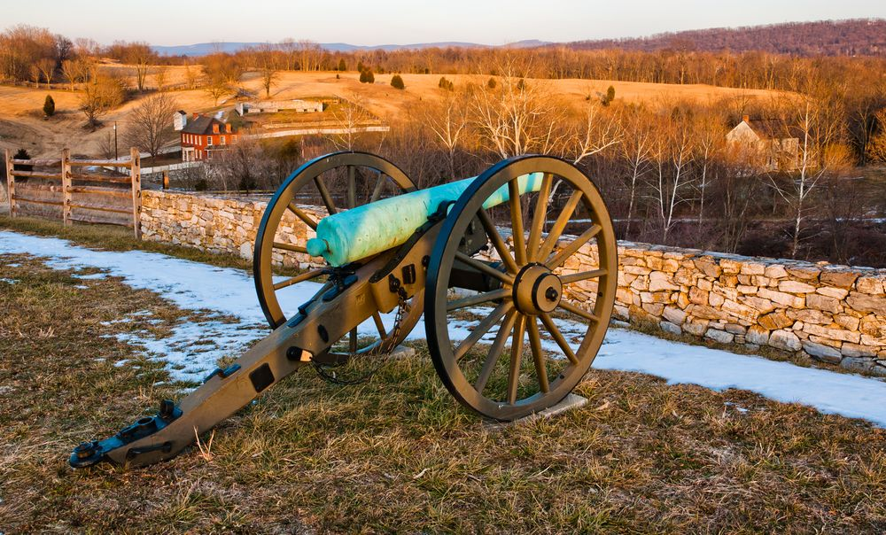 Canons at Antietam National Battlefield