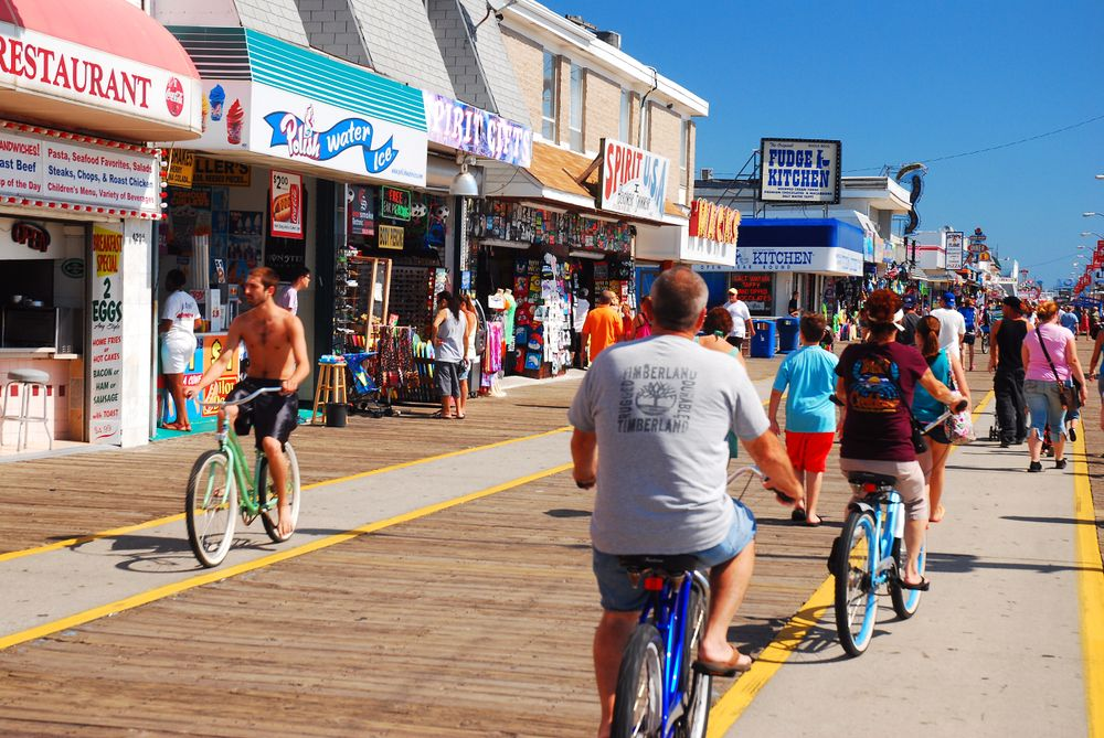 Biking in Wildwood