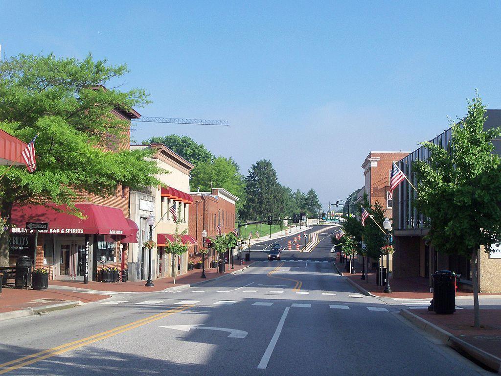 Downtown Blacksburg