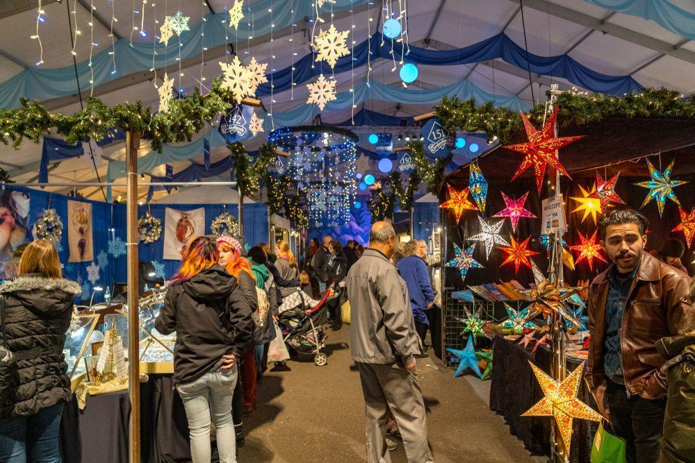 Christmas market in Bethlehem, PA