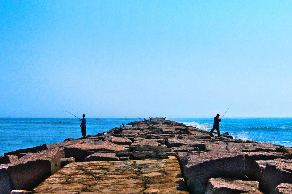 Fishing at Port Aransas