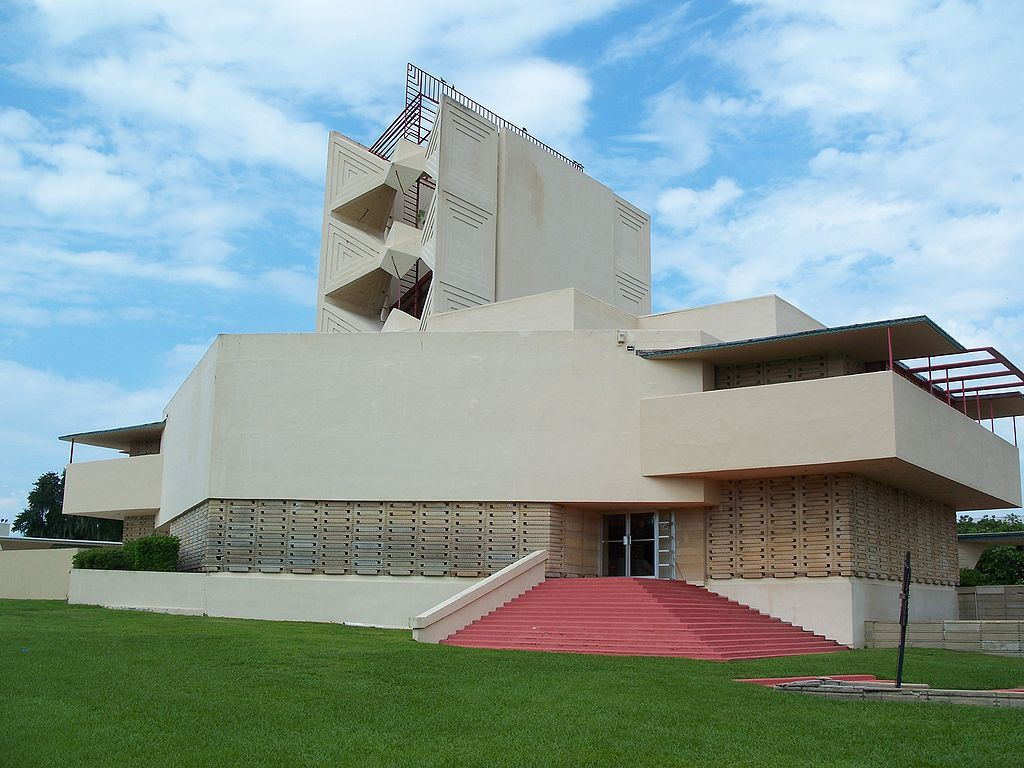 Pfeiffer Chapel built by Frank Lloyd Wright at Florida Southern College