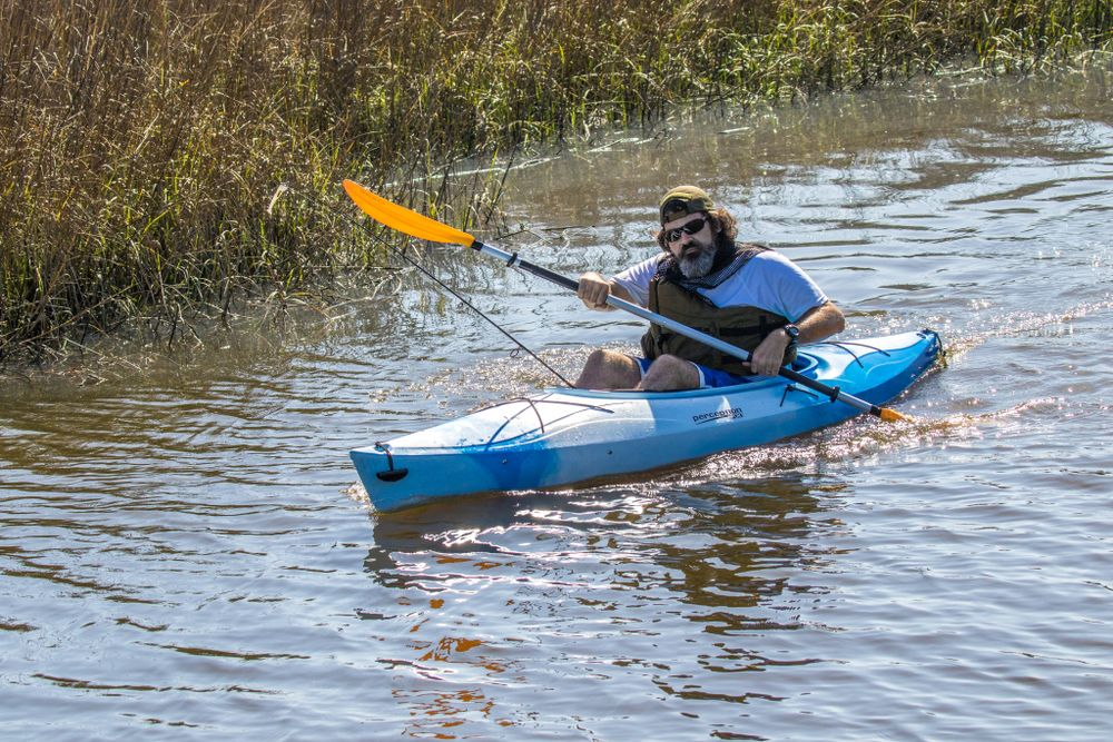 Kayaking in Amelia Island