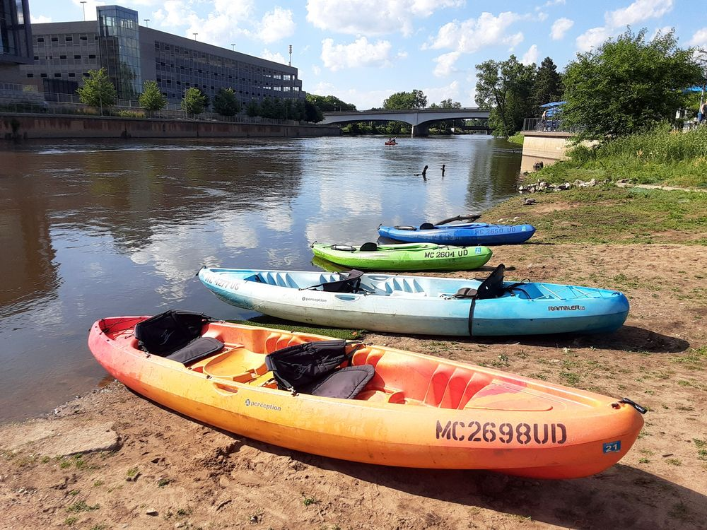 Kayaking in Lansing