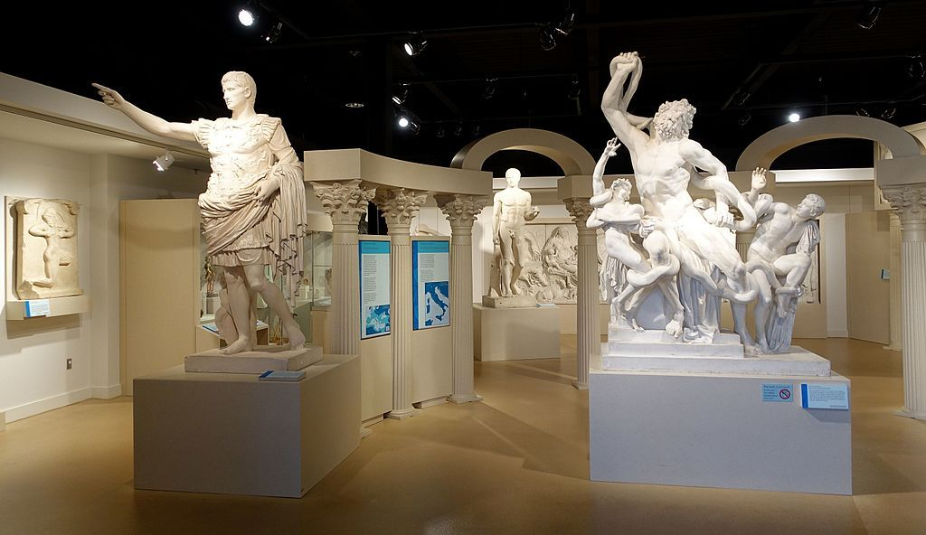 Classical art collection at Spurlock Museum