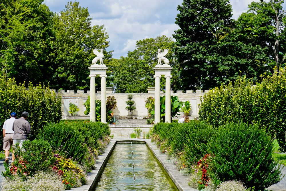 Untermyer Park and Gardens Persian architecture