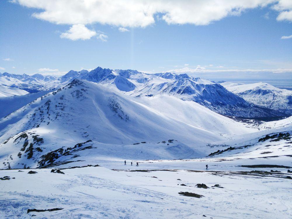 Arctic valley