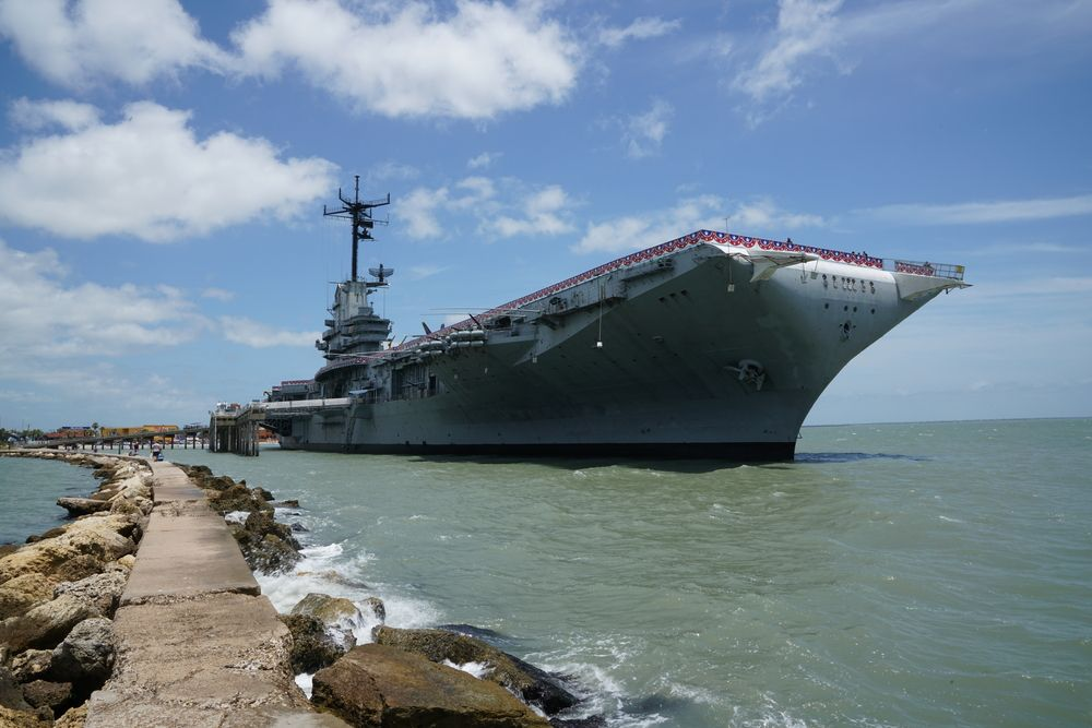 Blue Ghost USS Lexington