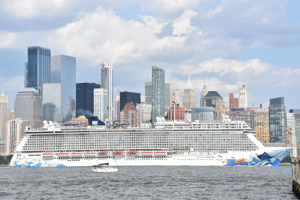 Cruise Ship in Jersey City