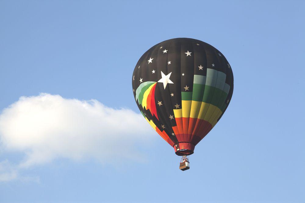 Hot-Air Balloon in Plano